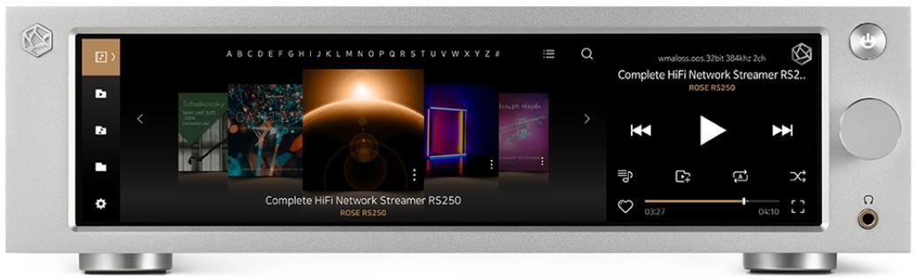 HiFiROSE] Complete HiFi Network Streamer, RS250 - New Product News - HiFi  ROSE